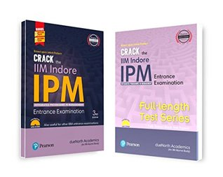 A Complete Preparation Combo of Crack the IIM Indore - IPM Entrance Examination & Full Length Test Series (Set of 2 Books)