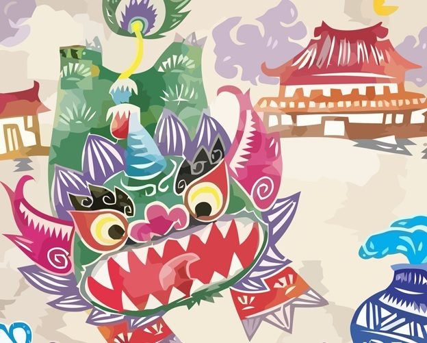 The Story of Nian – a Chinese New Year Folk Tale