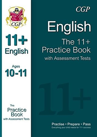 11+ English Practice Book with Assessment Tests Ages 10-11