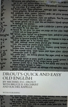 Drout's Quick and...