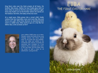 Ebba, the first Easter Hare by Leen Lefebre