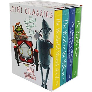 Mini Classics - Boxed Set, Wind in the Willows; The Jungle Book; The Wonderful Wizard of Oz; Alice's
