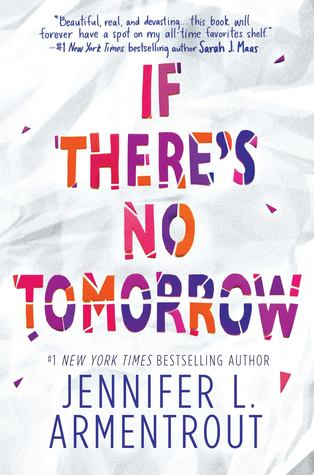 Image result for if there's no tomorrow book cover