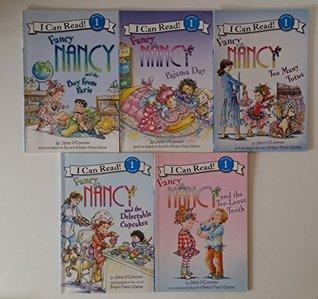 Fancy Nancy Books (5): Fancy Nancy and the Boy From Paris; Fancy Nancy Sees Stars; Fancy Nancy At the Museum; Fancy Nancy Poison Ivy Expert; Fancy Nancy Pajama Day (Children Book Sets : I Can Read Level 1 : Kindergarten - Grade 2)