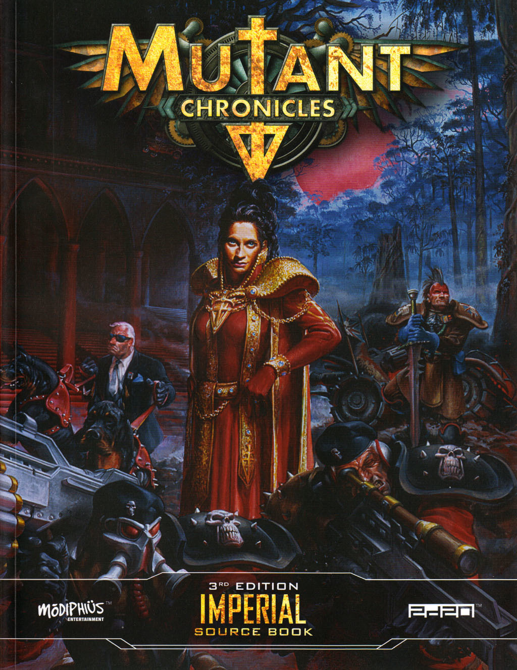 Imperial source book (Mutant Chronicles 3rd edition)