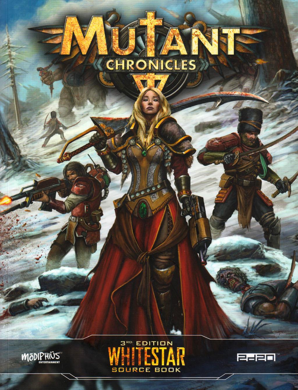 Whitestar source book (Mutant Chronicles 3rd edition)
