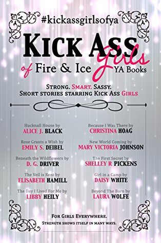 Kick Ass Girls of Fire & Ice YA Books: Short stories starring kick ass girls