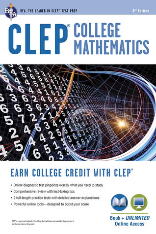CLEP® College Mathematics with Online Practice Tests