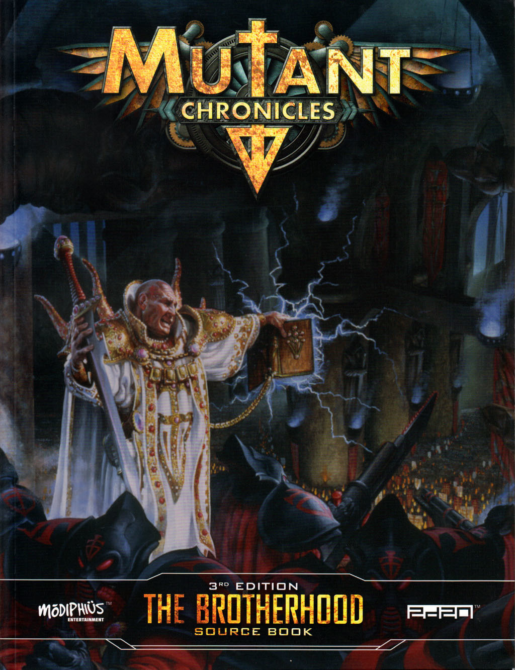 The Brotherhood source book (Mutant Chronicles 3rd edition)