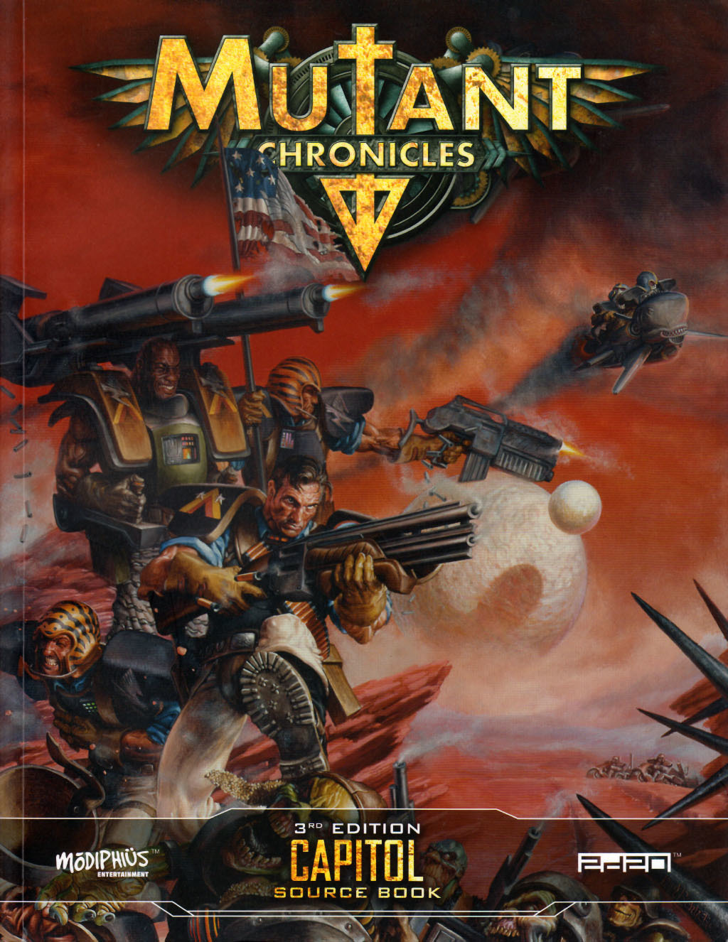 Capitol source book (Mutant Chronicles 3rd edition)