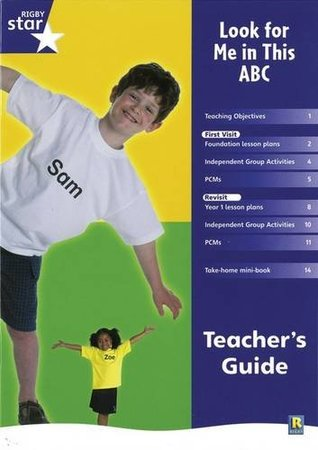 Rigby Star Shared Rec/P1 Non-Fiction: Look for Me in This ABC Shared Reading Pack Framework Edition: Reception/P1 Non-fiction
