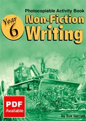 Year 6 - Non-fiction Writing: Photocopiable Activity Book