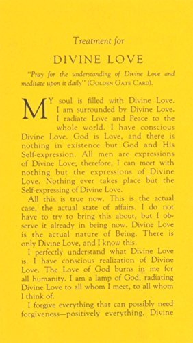 Treatment for Divine Love (#33)