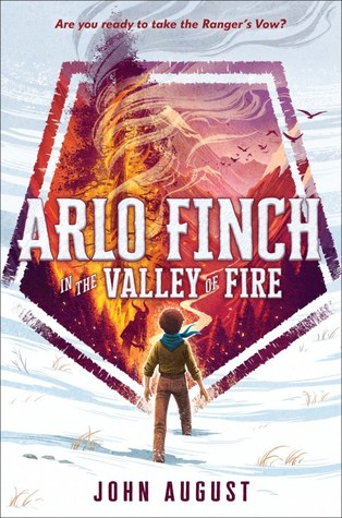 Arlo Finch and the Valley of Fire book cover
