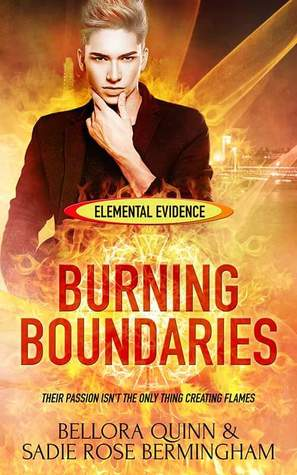 Book Review: Burning Boundaries (Elemental Evidence #2) by Bellora Quinn & Sadie Rose Bermingham