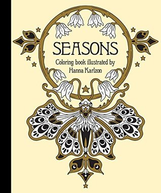 Seasons Coloring Book: Published in Sweden as