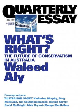 Ebook What's Right?: The Future of Conservatism in Australia by Waleed Aly PDF!