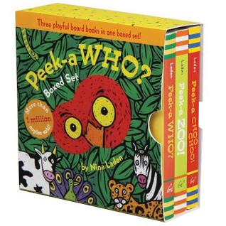 Peek-a Who? Boxed Set: (Children's Animal Books, Board Books for Kids)