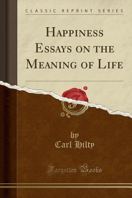 An Essay On Politics  Essay On Injustice also Down Syndrome Essay Happiness Essays On The Meaning Of Life By Carl Hilty Essay On Martin Luther