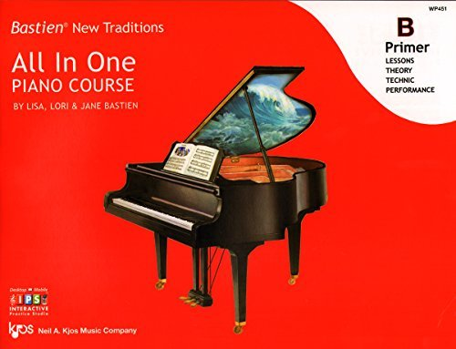 WP451 - Bastien New Traditions - All In One Piano Course - Primer B