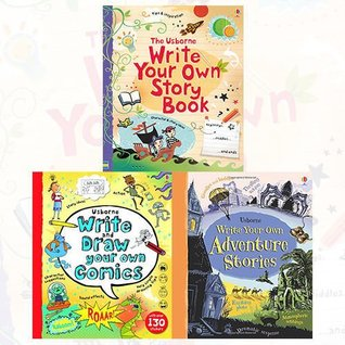 Usborne Write Your Own Collection 3 Books Bundle (Write Your Own Storybook [Spiral-bound], Write and Draw Your Own Comics, Write Your Own Adventure Stories)