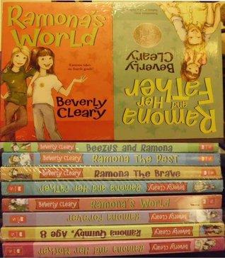 Beverly Cleary 8 book Ramona set: Beezus and Ramona, Ramona the Pest, Ramona the Brave, Ramona and Her Father, Ramona and Her Mother, Ramona Quimby Age 8, Ramona Forever, Ramona's World