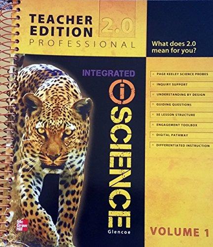 Glencoe Integrated iScience, Course 2, Grade 7, Vol. 1, Teacher Edition