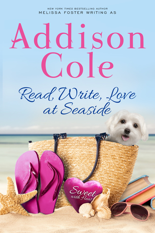 Read, Write, Love at Seaside (Sweet with Heat: Seaside Summers, #1)