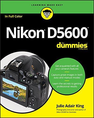 Nikon D5600 For Dummies (For Dummies
