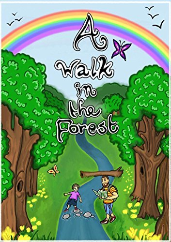 A Walk in the Forest: Children's Educational Picture Book (Children's Educational Books 1)