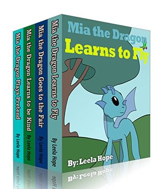 Mia the Dragon kids books sets