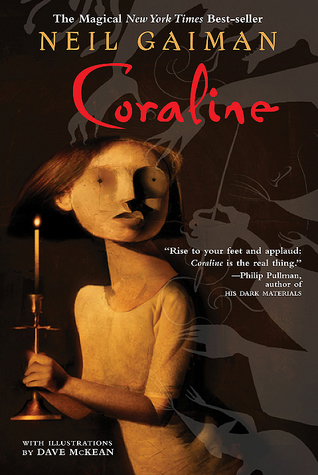 Coraline cover (link to Goodreads)