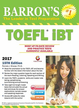 Barron's TOEFL iBT 15th edition