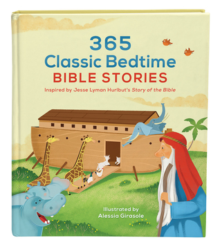 365 Classic Bedtime Bible Stories: Inspired by Jes...
