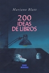 200 ideas de libros