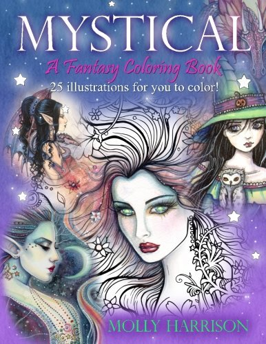 Mystical: A Fantasy Coloring Book