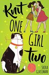 Book cover for Knit One, Girl Two
