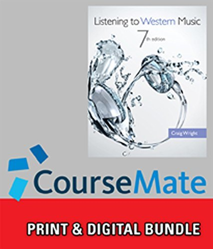 Bundle: Listening to Western Music (with Introduction to Listening CD), 7th + CourseMate, 1 term (6 months) Printed Access Card