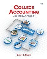 Bundle: College Accounting: A Career Approach (With Quickbooks Accounting 2013 Cd-rom), 12th + Working Papers with Study Guide, 12th