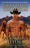 A Cowboy's Return (The McGavin Brothers, #3)