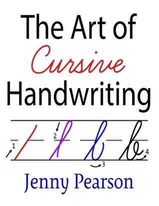 The art of cursive handwriting a self teaching workbook by jenny 35026364 fandeluxe Images