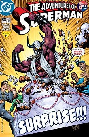Adventures of Superman (1986-2006) #584