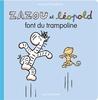Zazou et Léopold font du trampoline by Jacques Duquennoy