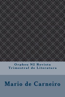 Orpheu N2 Revista Trimestral de Literatura