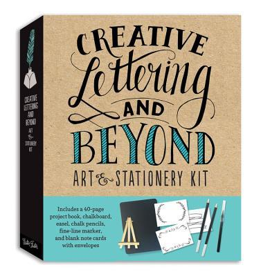 Creative Lettering and Beyond Art & Stationery Kit: Includes everything you need to create beautiful hand-lettered works of art and personalized note cards