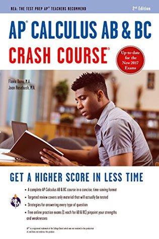 AP® Calculus AB & BC Crash Course Book + Online (Advanced Placement