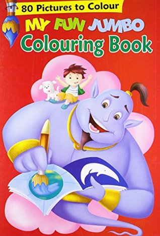 My Fun Jumbo Colouring Book: 1