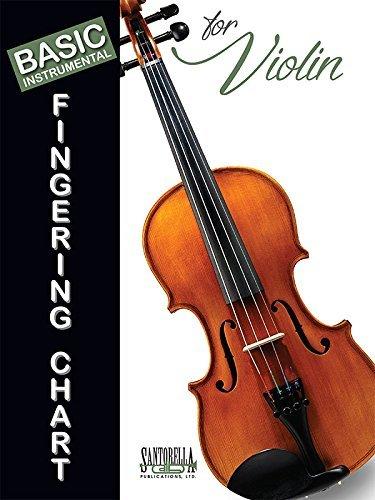 Basic Fingering Chart for Violin