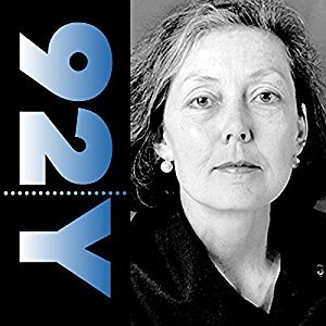 Anne Carson at the 92nd Street Y Poetry Center
