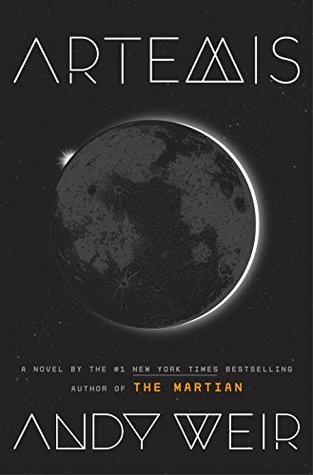 Book cover: Artemis by Andy Weir